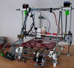 Wax RepRap 3-D Printer for Rapid Prototyping Paper-Based Microfluidics-500px-waxprinter.jpg