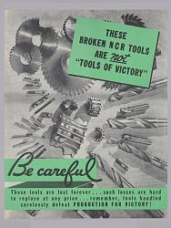 """WWII """"Don't Scrap It"""" poster - image-broken_ncr_tools_wwii_poster.jpg"""