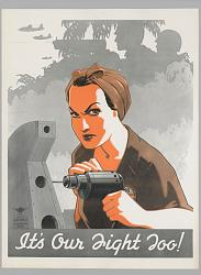 """WWII """"Don't Scrap It"""" poster - image-our_fight_too.jpg"""