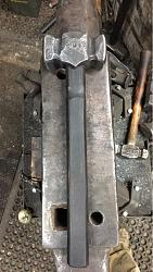 Hand forged smithing hammers