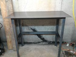 Lite weight welding table
