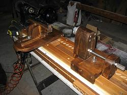My Homemade Lathe and a few things I turned on it....
