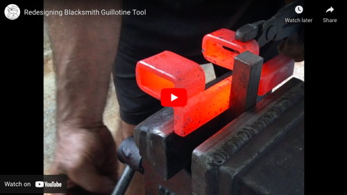 Blacksmith's Guillotine