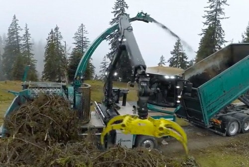 Crane Wood Chipper