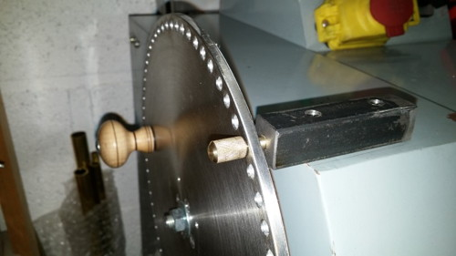 Indexing Plate and Crank