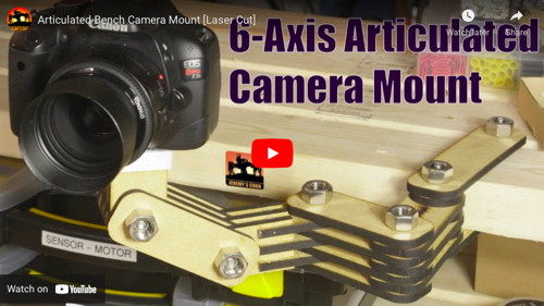 Articulated Bench Camera Mount