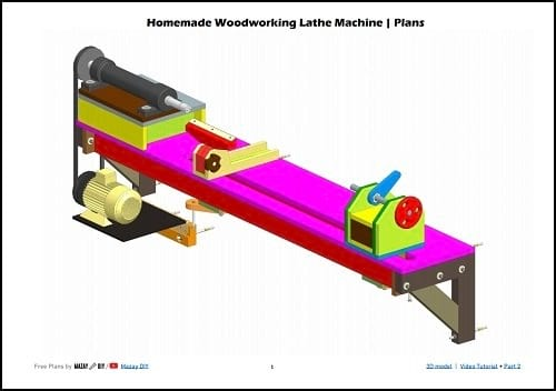 35 Plans for Homemade Woodturning Lathes, Pole Lathes, Treadle Lathes, and Drill-Powered Lathes