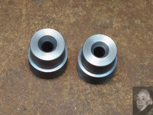 Tailstock Alignment Buttons