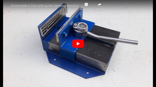 Quick-Clamp Vise