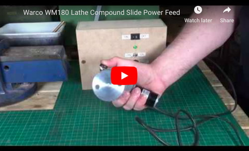 Lathe Compound Slide Power Feed