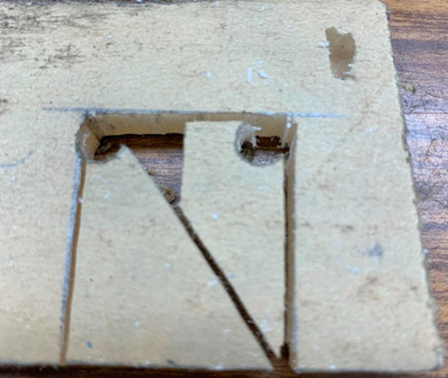 Bandsaw Notch Cutting Method