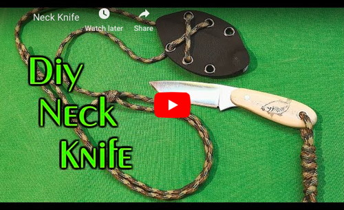 Neck Knife from Circular Saw