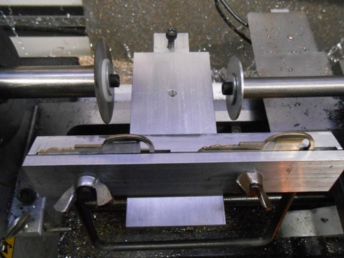 Key Cutter/Duplicator Attachment for Mini Lathe