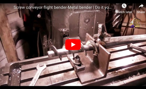 Conveyor Screw Bender