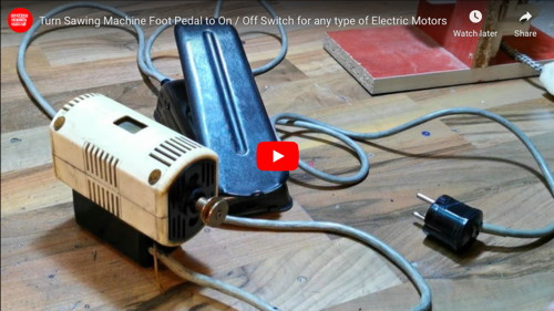 Electric Motor Foot Switch