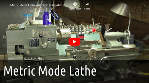 Metric Mode Lathe