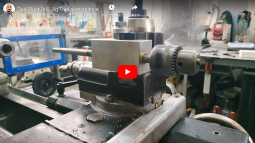 Lathe Tool Post Drilling Jig
