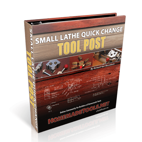 Small Lathe Quick Change Tool Post Plans