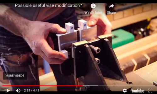 Metal Forming Vise Modification
