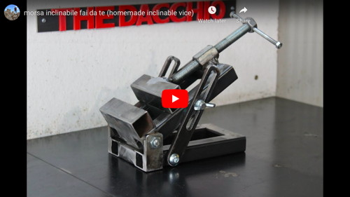 Inclinable Vise
