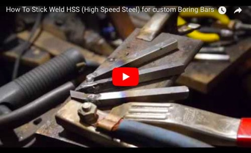 How to Stick Weld HSS for Boring Bars