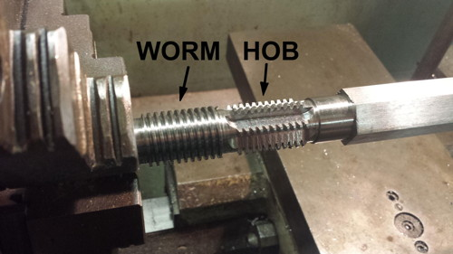 Hob for Worm Gears