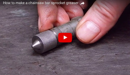 Chainsaw Bar Sprocket Greaser