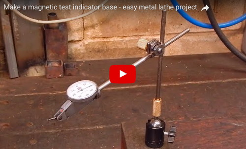 Magnetic Test Indicator Base