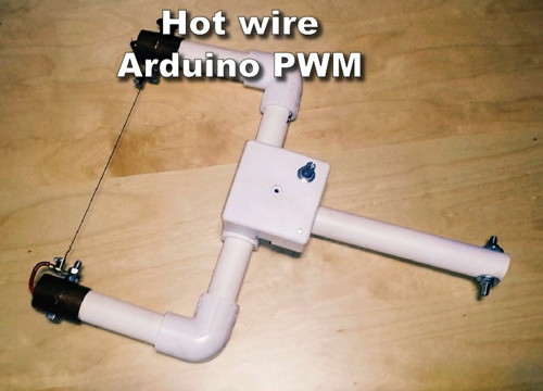 Arduino-Controlled Foam Cutter