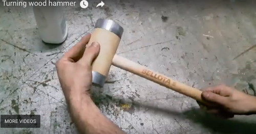 Turning a Wooden Hammer
