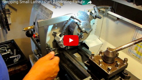 Lathe Indexing Fixture