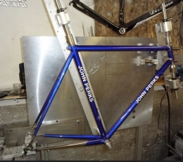 Homemade Bicycle Frame Jig