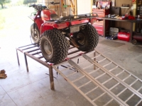 Three Wheeler Work Table