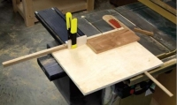 Panel-Cutting Sled