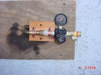 External Wall Compressor Outlet