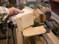 Lathe Router Jig