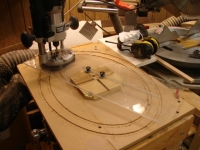Router Circle and Ellipse Cutting Jig