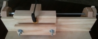Screw Advance Box Joint Jig