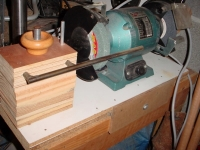 Adjustable Grinding Rest