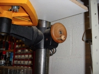 Drill Press Crank Wheel