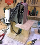 Vertical Belt Sander Mount