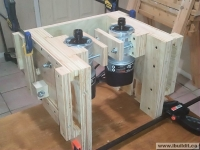Dual Router Table