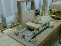 Horizontal Mortise Machine
