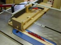 Dowel Cutting Sled