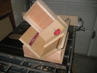 Table Saw Spline Jig