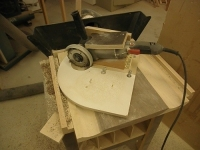 Chair Seat Carving Jig
