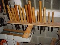Woodturning Tools Rack