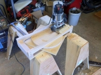 Router Seat Dishing Jig