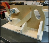 Splined Frame Jig