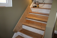Stair Refinishing Jig